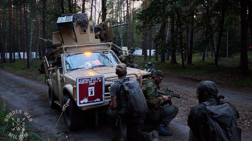 BW 12 TF HQ támadás alatt